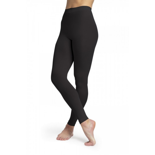 Collant Bloch Girls Contoursoft Footless Tight nero