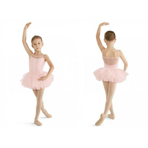 Tutù Bloch per bambina rosa fronte/retro