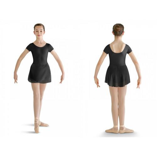 Vestitino Danza Bloch per bambina nero fronte/retro