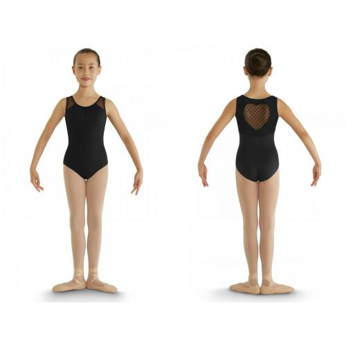 Body Miame Bloch nero fronte/retro