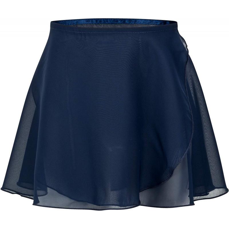 Gonnellino in chiffon blu