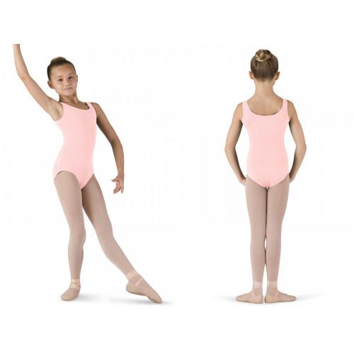 Body Tutù Bloch rosa fronte/retro