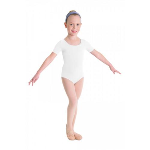 Body Ballet Bloch per bambina bianco