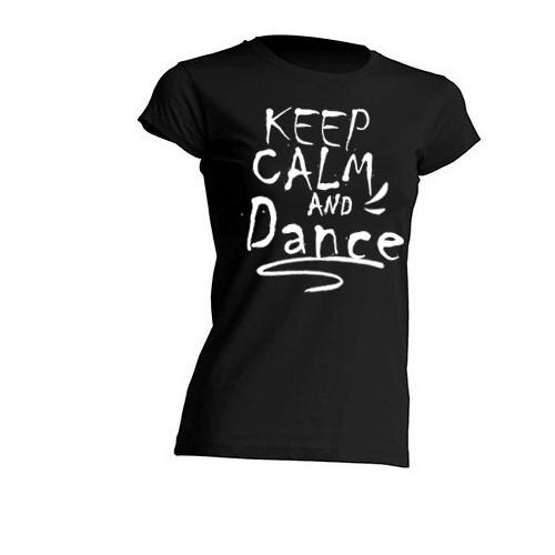T-shirt Donna mezza manica nera personalizzabile