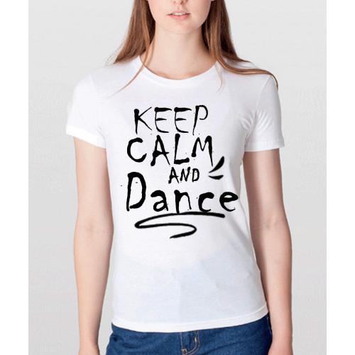 T-shirt Donna mezza manica bianca personalizzabile