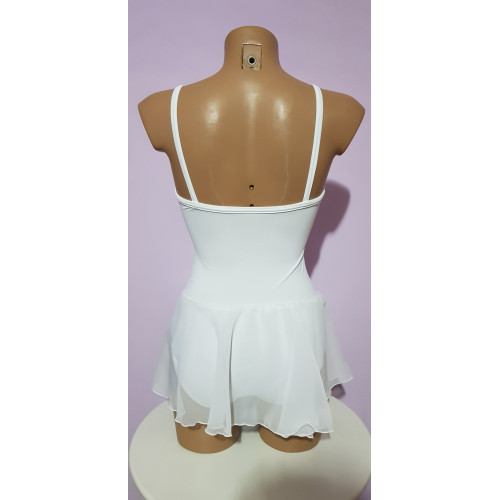 Body a bretellina modello scollatura normale retro
