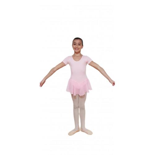Body mezza manica con fianchini scollatura normale
