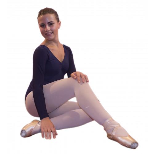 Body manica lunga scollatura sacrale