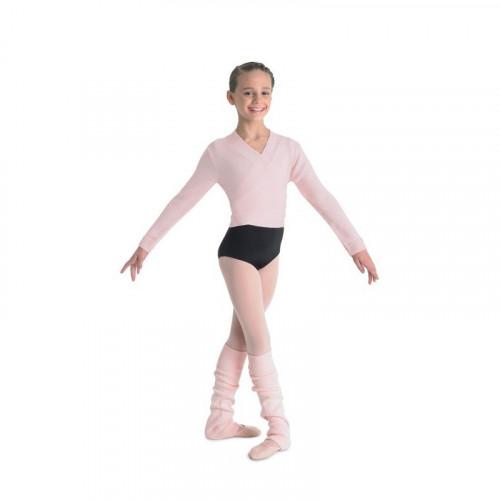 Scaldacuore Bloch rosa antico per bambina